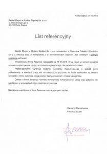 List referencyjny 2